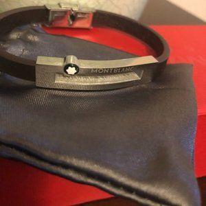 Brand New MontBlanc Leather Bracelet